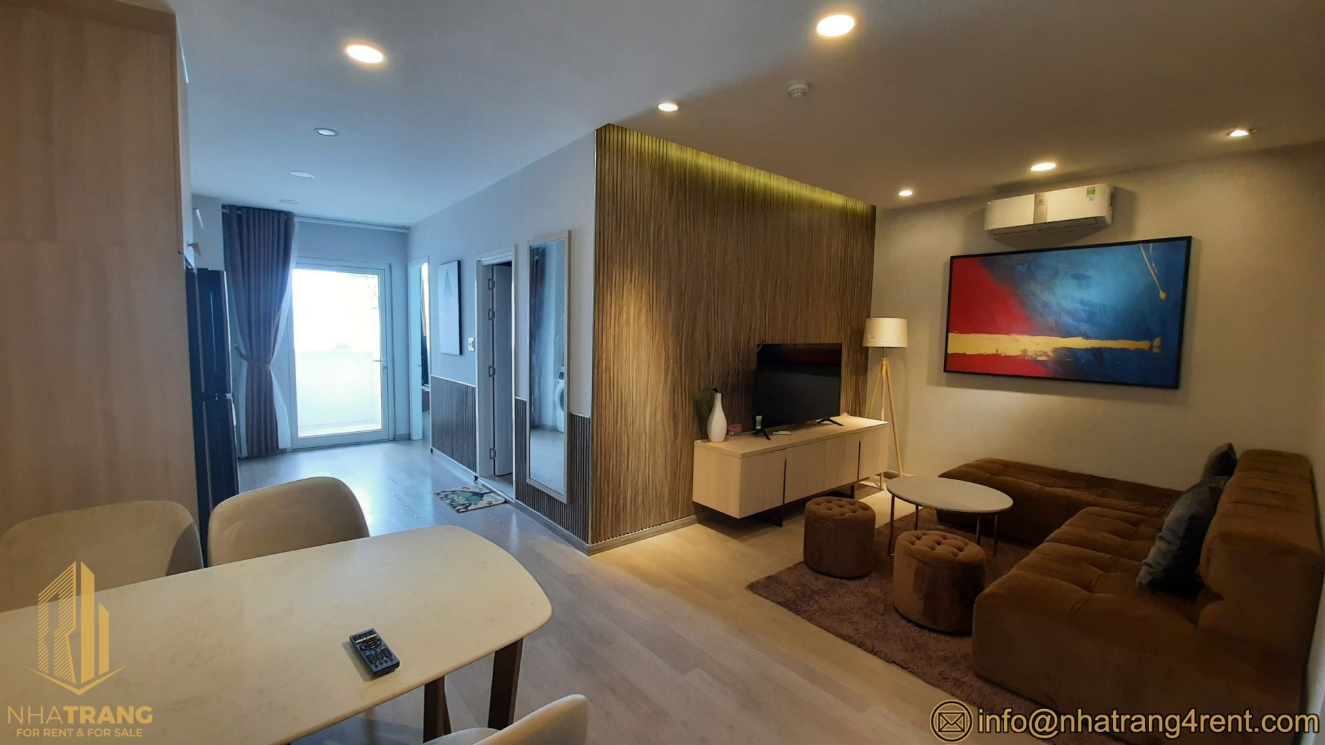 Muong Thanh Khanh Hoa – 2 br apartment for rent near the center A201