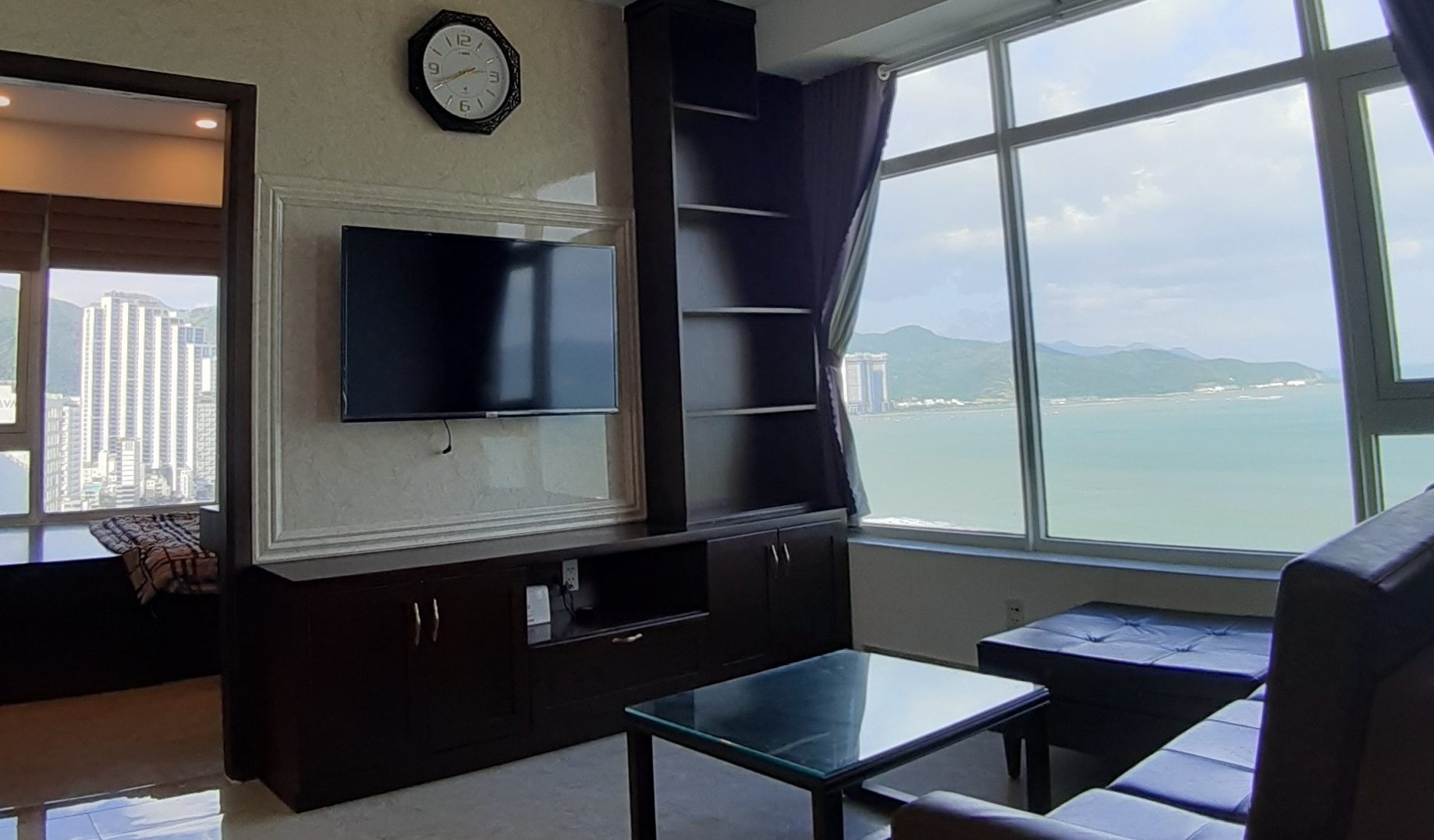 2 BR Corner & Direct Sea View Apartment in Muong Thanh Oceanus for Sale S012